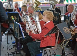 Euphonium section
