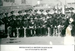 1938 - Brixham Royal British Legion band in Nov