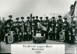 1960 - Brixham British Legion band
