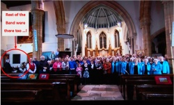 Songs of Praise at St Mary's church