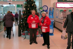 Our stalwart collectors - Jenny & Mary