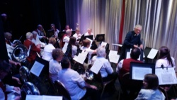 Band at annual Rotary concert