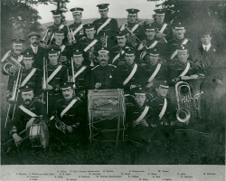 1914 - Brixham Military Subscription band at Astley Park
