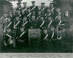 1914 - Brixham Military Subscription band at Astley Park