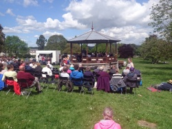 Courtenay Park summer concert in the park - 13 May