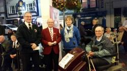 Phil, Alasdair, Mary Thomson & Robert Boyd