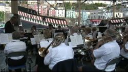 Band on the quay again
